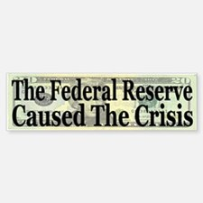 The Fed Caused The Crisis