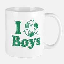 I Recycle Boys Humor Mug
