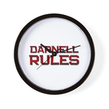 darnell rules Wall Clock