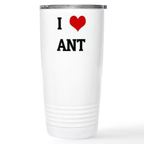 I Love ANT Stainless Steel Travel Mug