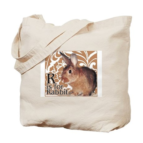 R is for Rabbit - Tote Bag