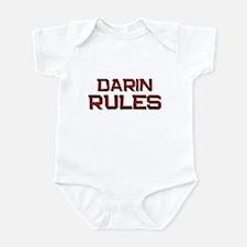 darin rules Infant Bodysuit