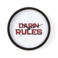 darin rules Wall Clock