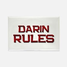 darin rules Rectangle Magnet