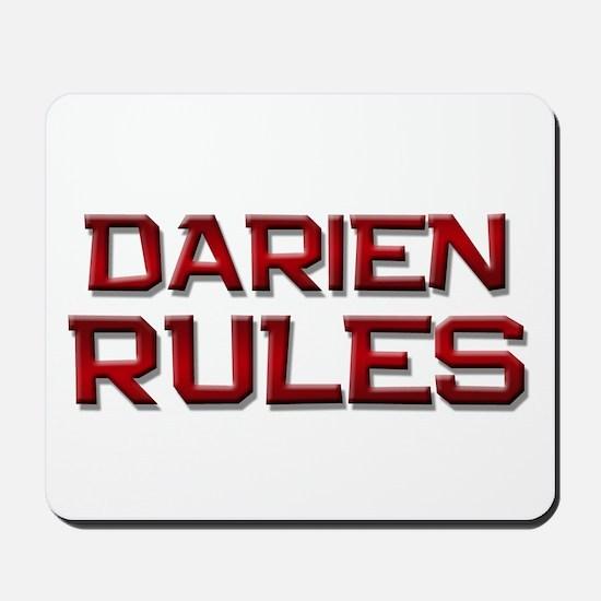 darien rules Mousepad