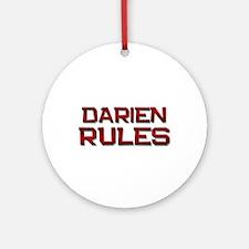 darien rules Ornament (Round)