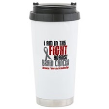In The Fight GRANDMOTHER Brain Cancer Travel Mug