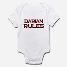 darian rules Infant Bodysuit