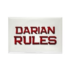 darian rules Rectangle Magnet