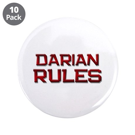 """darian rules 3.5"""" Button (10 pack)"""