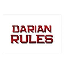 darian rules Postcards (Package of 8)