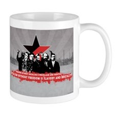 Anarchist_Commmunist_Poster Mugs