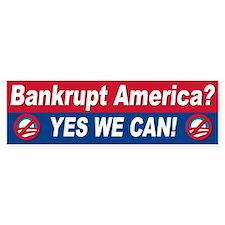 Anti Obama Bumper Bumper Sticker