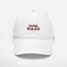daria rules Baseball Baseball Cap