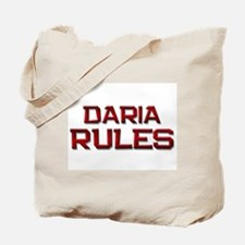 daria rules Tote Bag