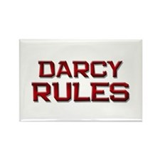 darcy rules Rectangle Magnet