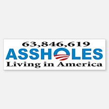 Anti Obama Bumper Bumper Bumper Sticker