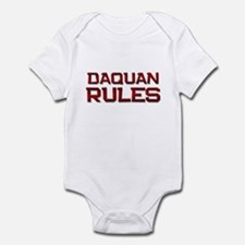 daquan rules Infant Bodysuit