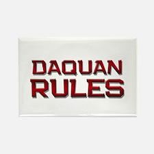 daquan rules Rectangle Magnet