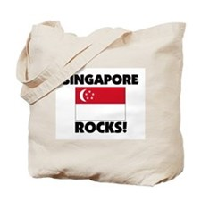 Singapore Rocks Tote Bag