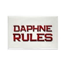 daphne rules Rectangle Magnet