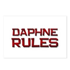 daphne rules Postcards (Package of 8)