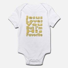 Jesus Loves You, But I'm His  Infant Creeper