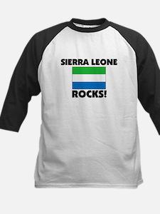 Sierra Leone Rocks Kids Baseball Jersey