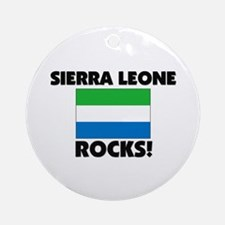 Sierra Leone Rocks Ornament (Round)