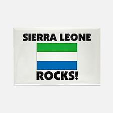 Sierra Leone Rocks Rectangle Magnet