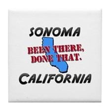 sonoma california - been there, done that Tile Coa