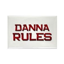 danna rules Rectangle Magnet