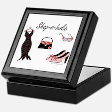 Shop-a-holic Keepsake Box
