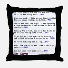 TWSS - Situations (Cavs) Throw Pillow