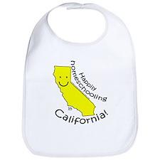 Happy in CA Bib