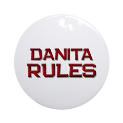 danita rules Ornament (Round)