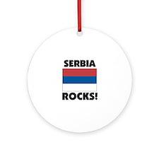 Serbia Rocks Ornament (Round)