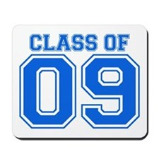 Class Of 09 (Blue Varsity) Mousepad