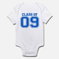 Class Of 09 (Blue Varsity) Infant Bodysuit