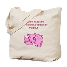 Not social-workey in pink Tote Bag