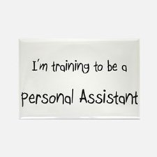 I'm training to be a Personal Assistant Rectangle