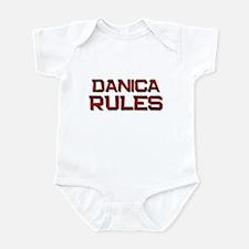 danica rules Infant Bodysuit