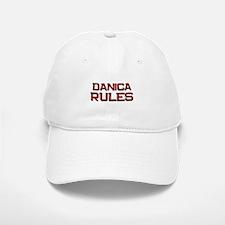 danica rules Baseball Baseball Cap