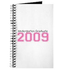 Kindergarten Graduate 2009 (Pink) Journal