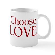 Choose Love Mug - double image