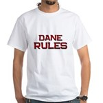 dane rules White T-Shirt