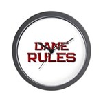 dane rules Wall Clock