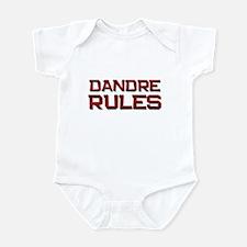 dandre rules Infant Bodysuit
