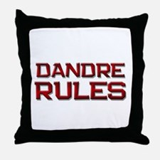 dandre rules Throw Pillow