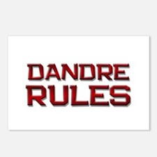 dandre rules Postcards (Package of 8)